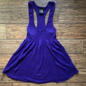 Free People Dresses - Free People - Deep Plunge Tank Skater Dress